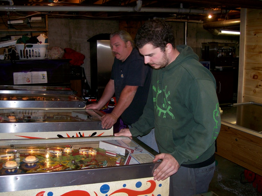 Pinball with Dad
