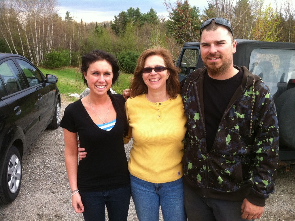 Disc Golf with Adele, Mom, Asti - Mother's Day