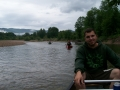 Canoeing down the Saco